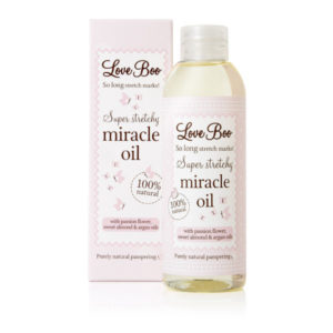 Olje proti strijam (Super Stretchy Miracle Oil)