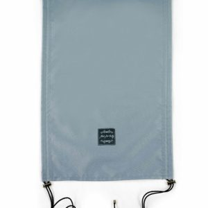 Univerzalna vodoodporna UV zaščita za voziček in jajčko – svetlo siva